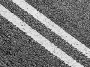 double yellow line