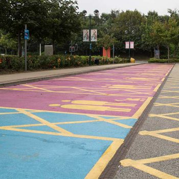 Car Park Painting in Sheffield