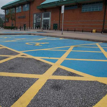 Car Park Painting in Leeds