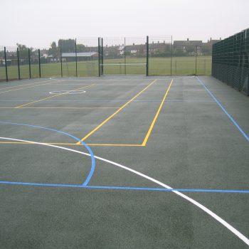 Sports Court Markings in Sheffield