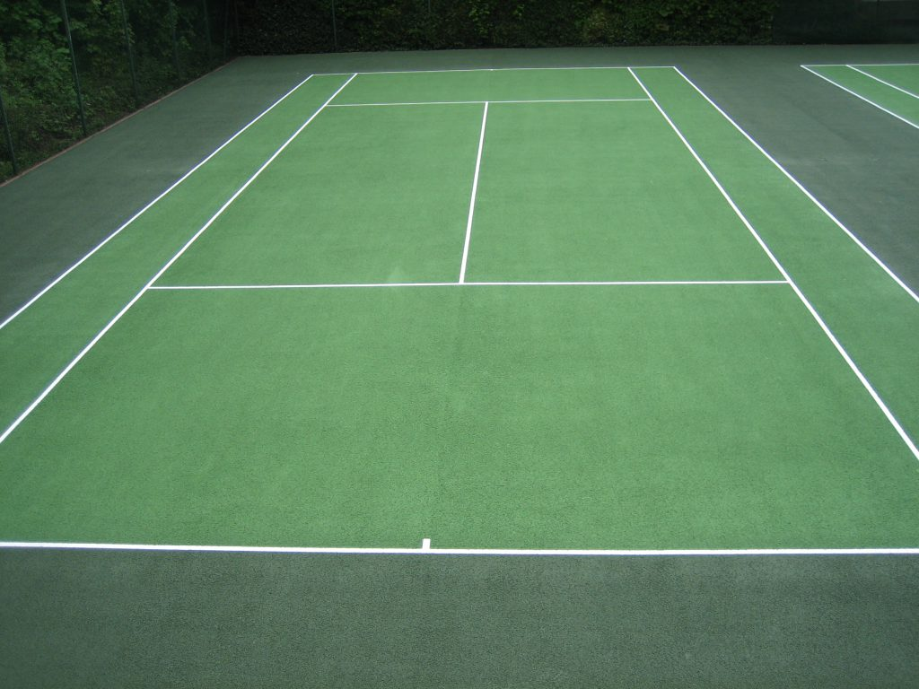 Tennis Court Refurbishment in Sheffield