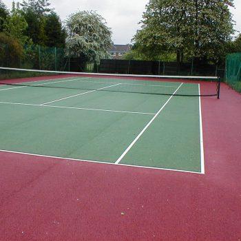 Tennis Court Markings in Sheffield