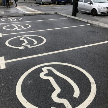 Car Park Charging Point Markings