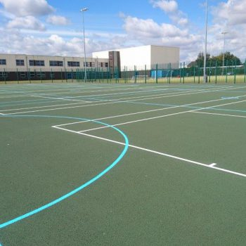 Sports Court Renovation in Leeds