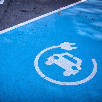 Car Electric Charging Markings in Sheffield
