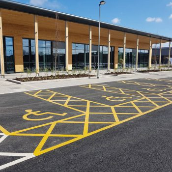 Car Park Markings Sheffield & Leeds