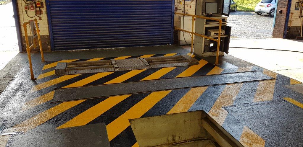 Warehouse Markings In Hull