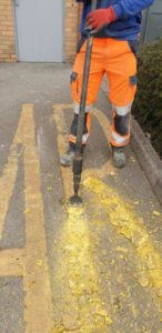 Road Marking Removal in Sheffield