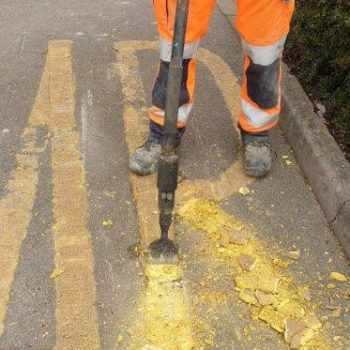 Road Marking Removal in Sheffield