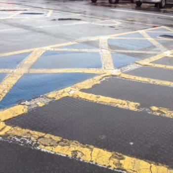 Carpark Line Removals In Sheffield