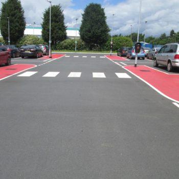 Car Park Line Markings in Sheffield