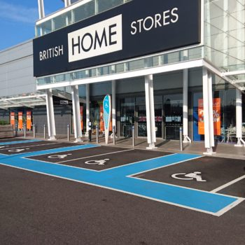 Car Park Line Markings in Rotherham