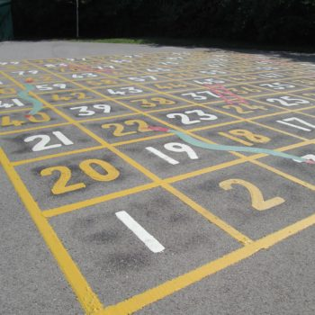 School Playground Markings in Leeds