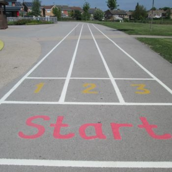 School Playground Markings in Doncaster
