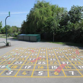 School Playground Markings in Hull