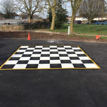 School Playground Markings in Barnsley