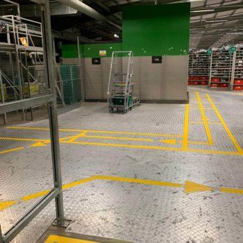 Warehouse Markings In Leeds